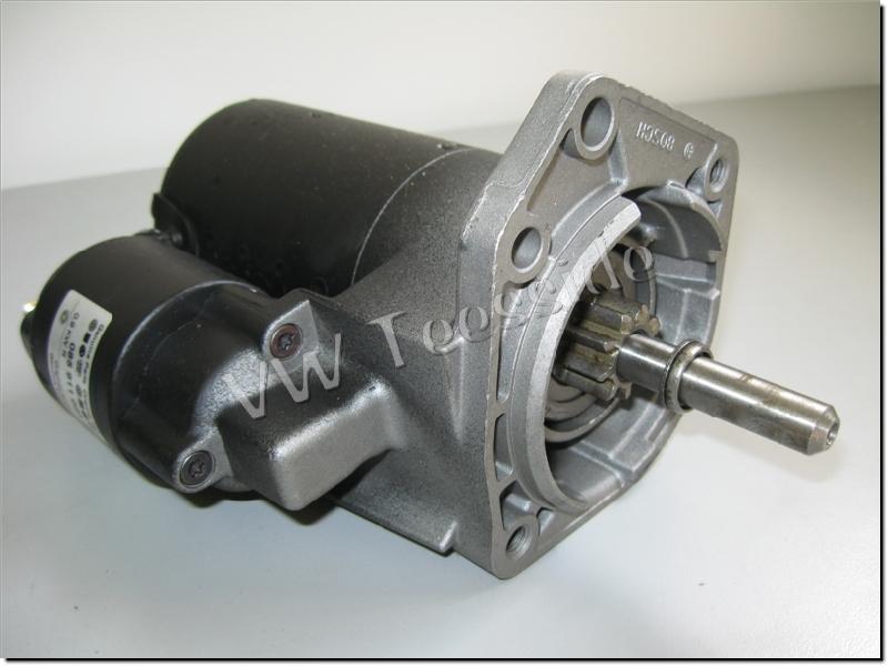 genuine vw mk3 golf caddy lupo polo 1 4 1 6 starter motor. Black Bedroom Furniture Sets. Home Design Ideas