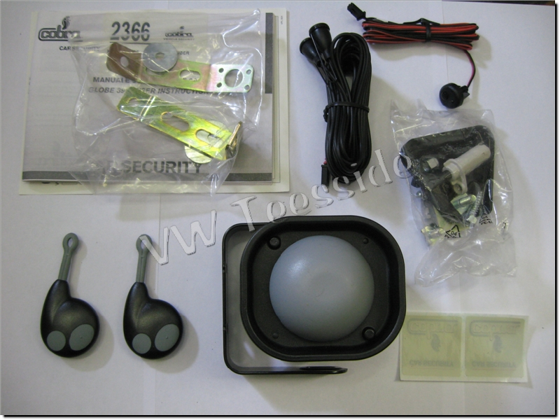 vw polo ibiza fabia cobra globe 3900 alarm loom new ebay
